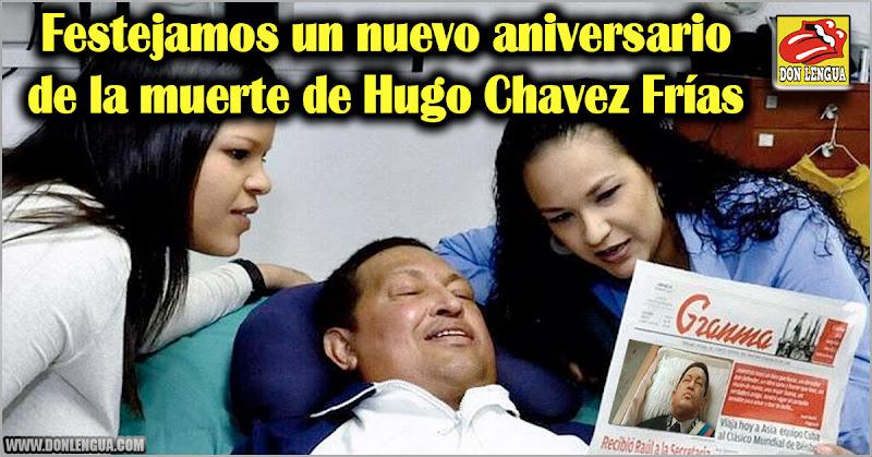 Festejamos un nuevo aniversario de la muerte de Hugo Chavez Frías