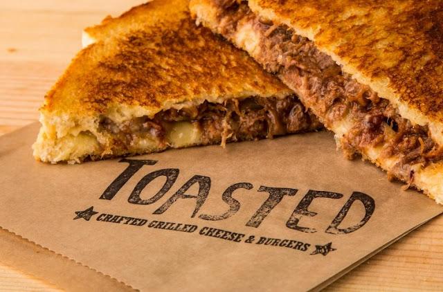 Sanduíche do Toasted em Winter Park na Flórida