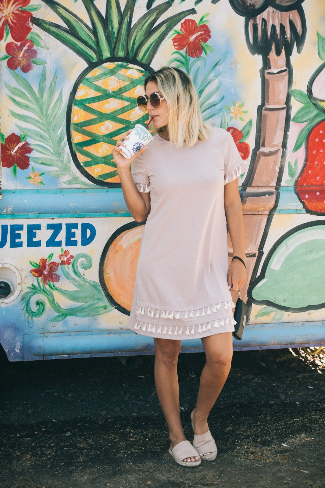 Tassel Dress - @taylorwinkelmeyer MyCupofChic.com