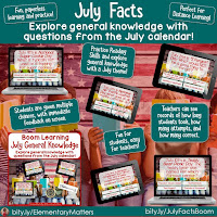 General Knowledge and Trivia for July