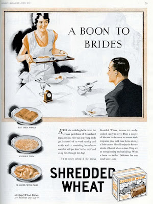 Shredded Wheat - A boon to brides