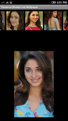 Tamanna Bhatia 3D live Wallpaper For Android Mobile Phone