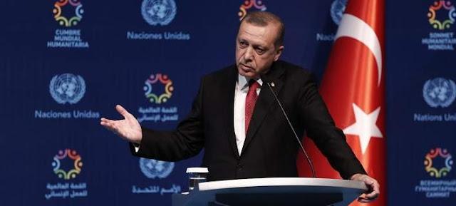 """Σκληρό """"πόκερ"""" του Ερντογάν με την Ε.Ε."""