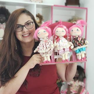 Aulas boneca Bela pink 1,2,3