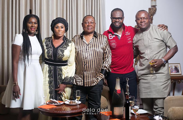 NOLLYWOOD ATTENDS!!! EXCLUSIVE PHOTOS AS NOLLYWOOD ACTRESS STEPHANIE LINUS CELEBRATES MAXWELL'S 1ST BIRTHDAY PARTY