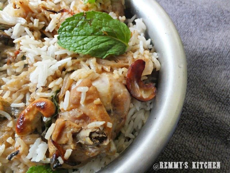 Chicken  dum biriyani recipe for bachelors / Easy  kerala chicken dum biriyani / Bachelors biriyani