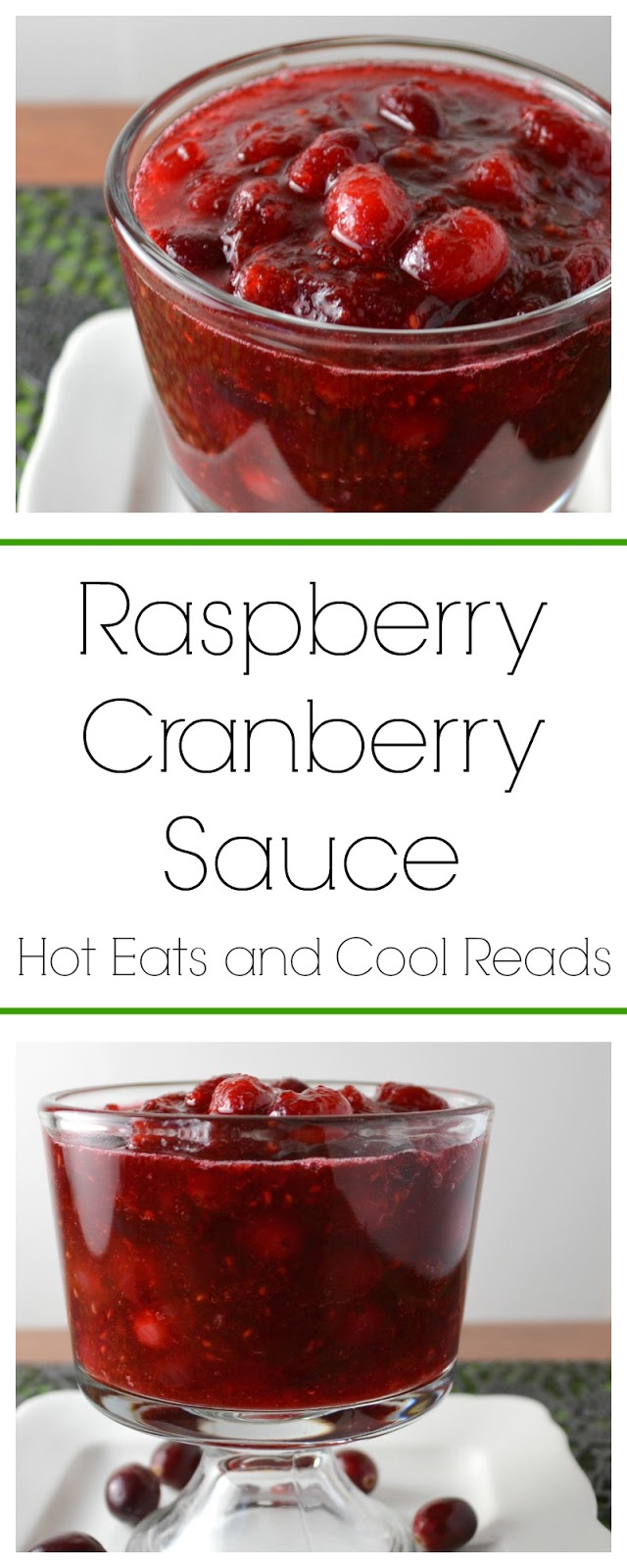 This cranberry sauce has a delicious twist using raspberries! SO amazing and perfect for your Thanksgiving or Christmas menu! This will be a new family favorite! Tried and true holiday comfort food!