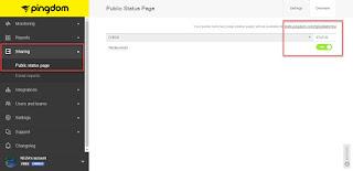 Cara mendapatkan UpTime Monitor Website Atau Blog Secara Gratis
