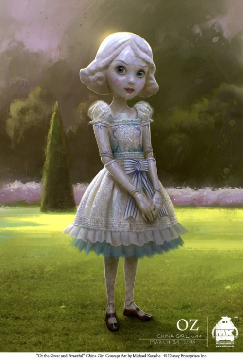Michael Kutsche arte deviantart ilustrações fantasia ficção científica artes conceituais personagens character design cinema filme Oz: Mágico e Poderoso (Oz the Great and Powerful)