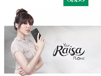 Oppo F1S Raisa Edition, cantik dan limited