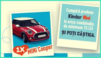 lista castigatori concurs kinder 2020 masina mini cooper