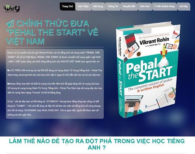 Landing Page bán Sách Tiếng Anh - Ảnh 1