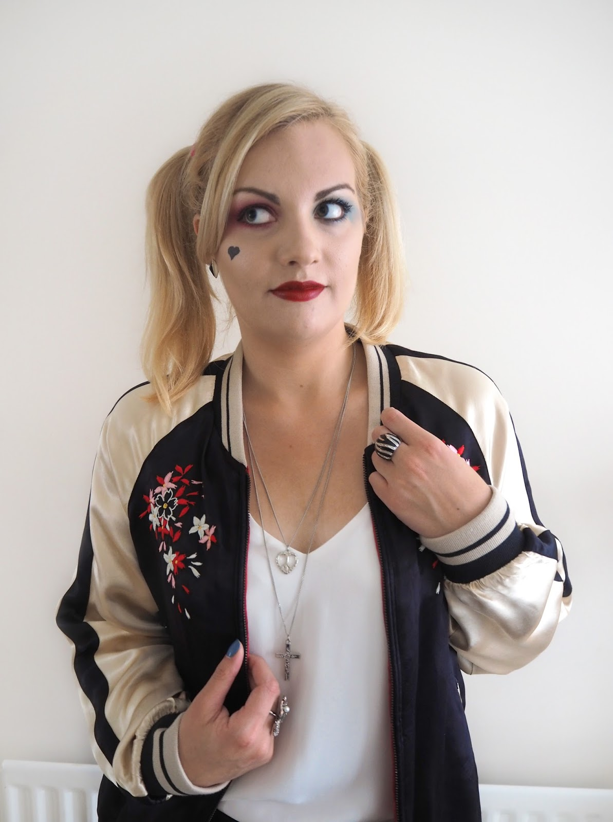 Halloween | Harley Quinn Make Up Look & Outfit