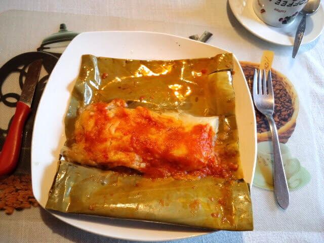 タマール グアテマラ郷土料理