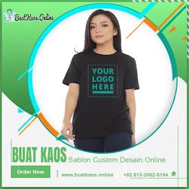 Jasa Membuat Kaos Sablon Pesan Online Mudah Harga Mulai <price>Rp60.000</price> <code>Pre Order</code>