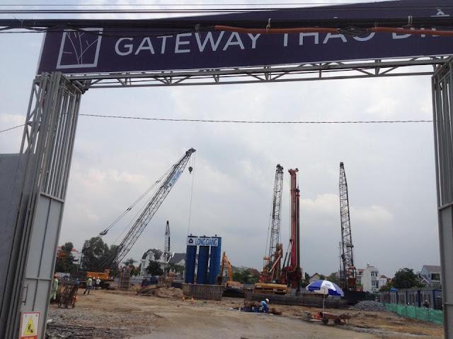Tiến độ dự án căn hộ Gateway Thảo Điền Quận 2
