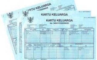 kartu keluarga (KK) untuk daftar BPJS