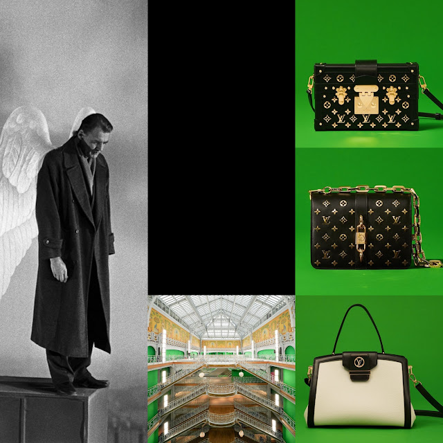Louis Vuitton Spring Summer 2021 – Bruno Ganz Wings of Desire by RUNWAY MAGAZINE