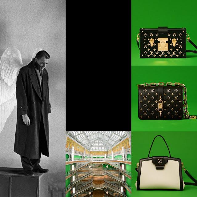 Louis Vuitton Spring Summer 2021 – Bruno Ganz Wings of Desire by RUNWAY MAGAZINE