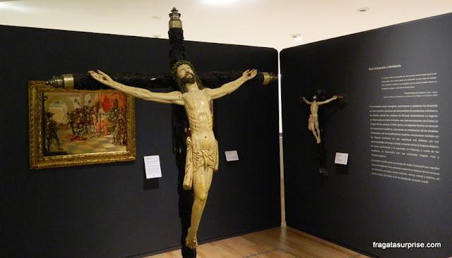 Arte sacra filipina em marfim, Museu Soumaya, Cidade do México -