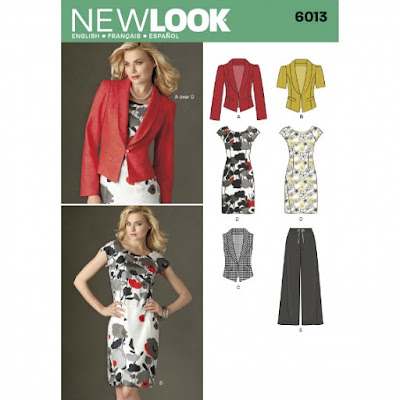 New Look 6013 sewing pattern www.loweryourpresserfoot.blogspot.com