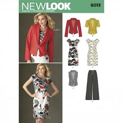 New Look 6013 sewing pattern www.loweryourpresserfoot.blogspot.com