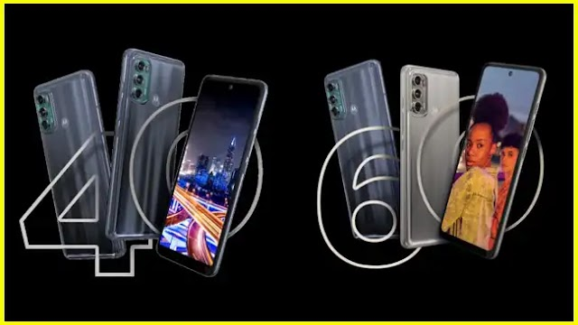 Motorola Moto G40 Fusion & Moto G60 Fusion presented
