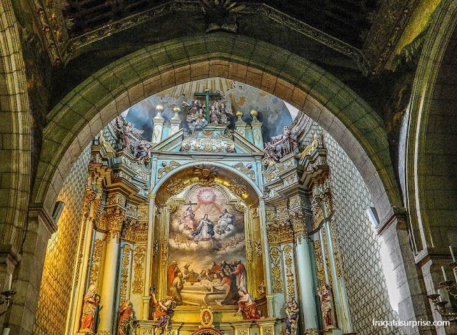 Altar da Catedral de Quito, Equador