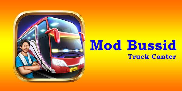 Download Mod Bussid Truck canter full strobo dan full anim