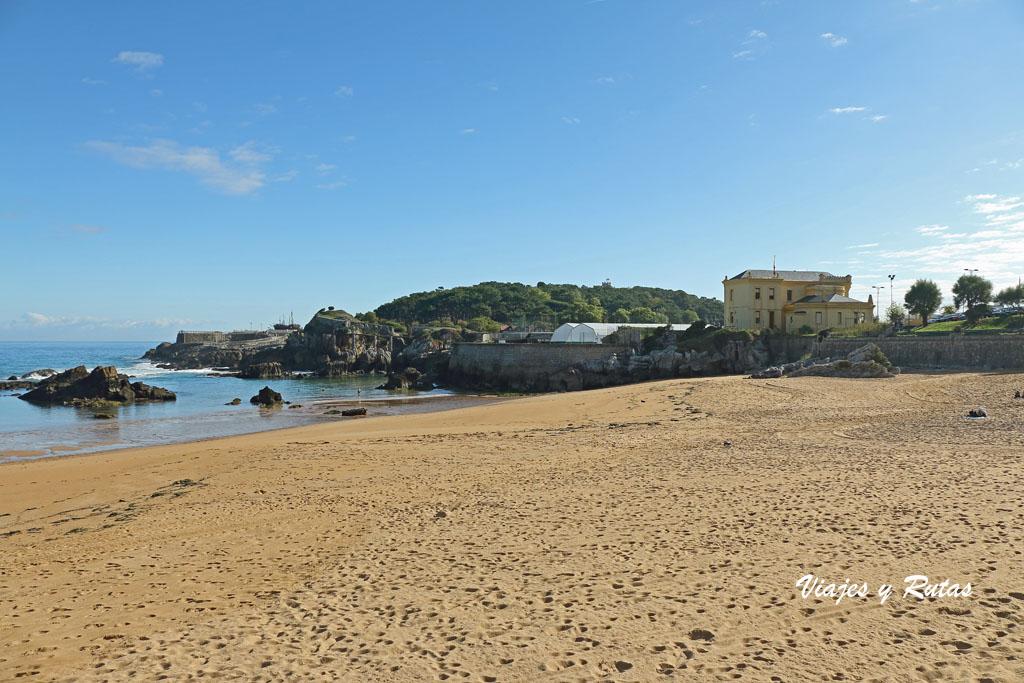 Playa de los Camellos, Santander