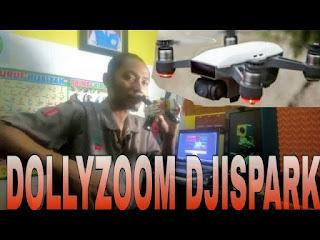 Dolly zoom dji spark