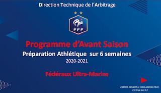 Programme d'Avant Saison Préparation Athlétique sur 6 semaines 2020-2021 PDF