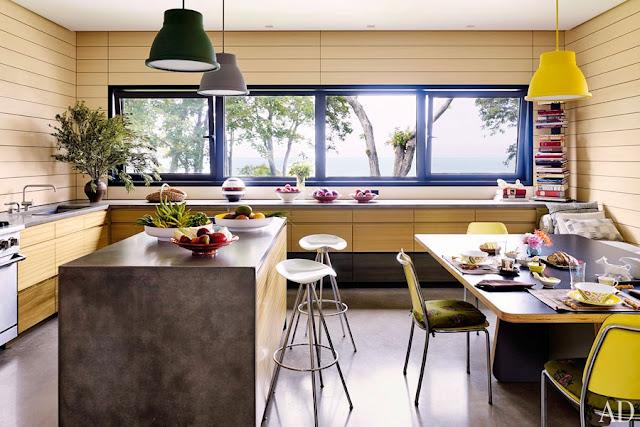 Mehr Mut zu Farbe! Zu mehr Leben! Zu mehr Design! Einrichten mit dem Farbtopf in der Hand: Küche