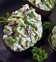 'Engagement Chicken' Avocado Salad (DF)