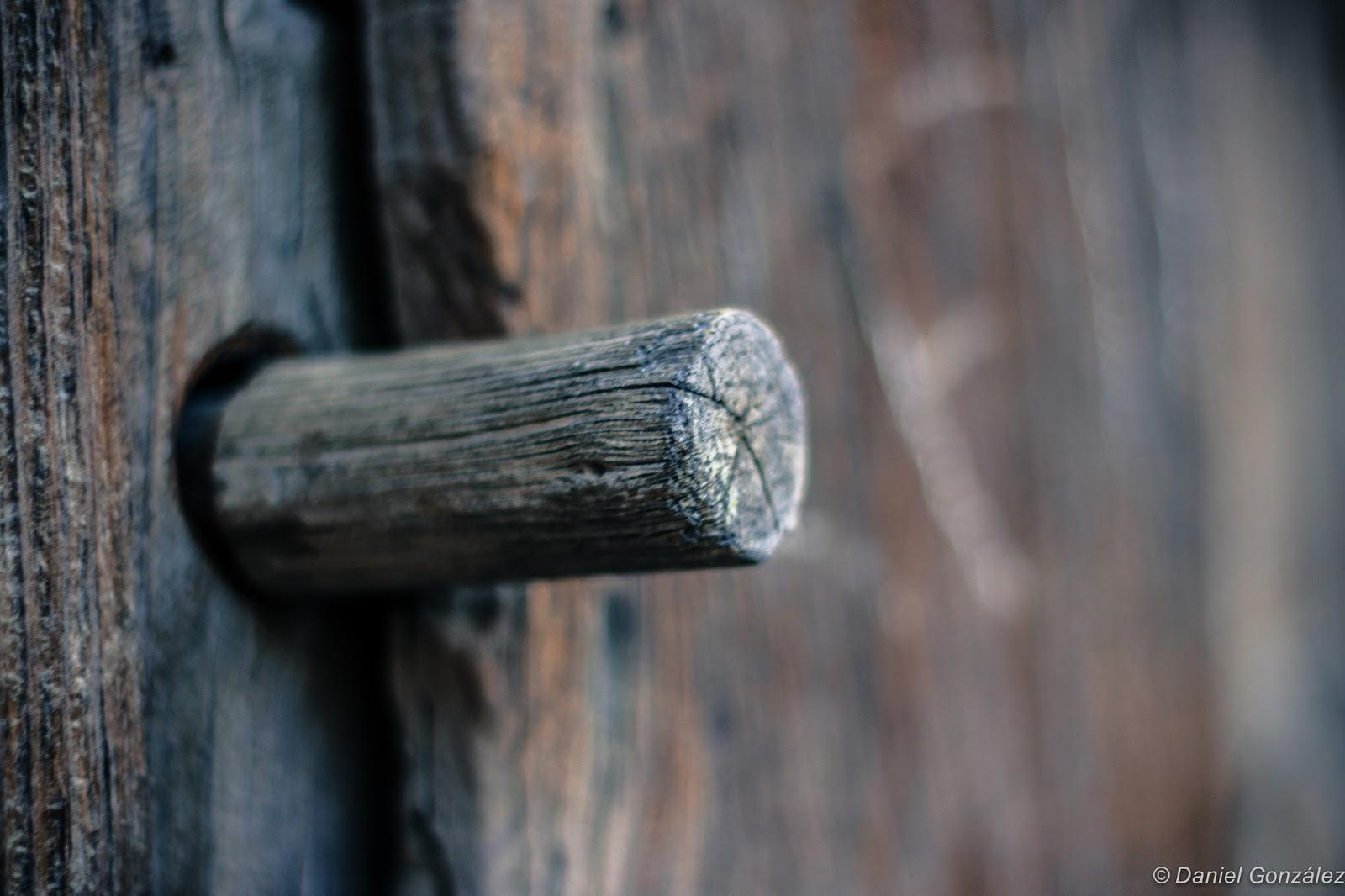 Pomo puerta rústica, El Barraco, Avila 2013