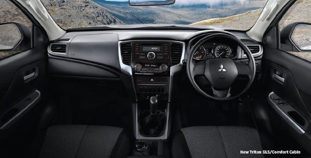 desain interior new triton 2020