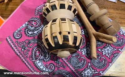 Molinillo de Madera utensilio de Cocina Tradicional Mexicana