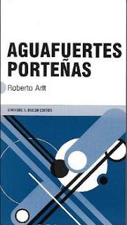 Portada del libro aguafuertes porteñas para descargar en pdf gratis