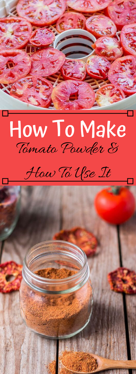 HOW TO MAKE TOMATO POWDER & DEHYDRATED TOMATOES #vegetarian #tomato #easy #recipes #dinner