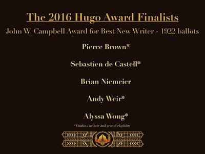 2016 Hugo Awards Campbell Nominees