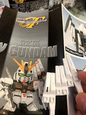 G Generation-F SD BB Senshi RX-93 Nu Gundam G Generation-F SD BB Senshi RX-93 Nu Gundam Fin Funnels