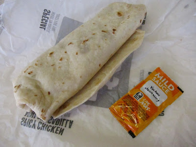 Review Taco Bell Cheesy Bean Rice Burrito Brand Eating