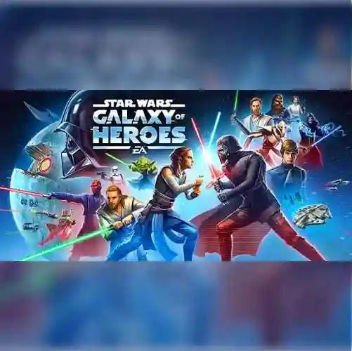 Star Wars Galaxy of Heroes والتي تم إصدارها مؤخرًا لنظام الشتيغل اندرويد مقدمة من شركة الالعاب الشهرية ELECTRONIC ARTS تسند اللعبة إلى حرب النجوم
