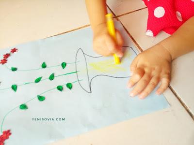 kegiatan mewarnai anak usia dini