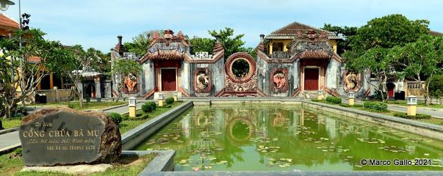 PUERTAS DEL TEMPLO BA MU, HOI AN, VIETNAM