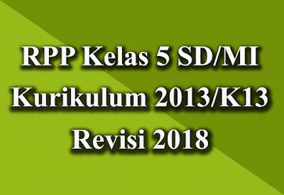 Unduh RPP Kelas 5 K13 Revisi 2018
