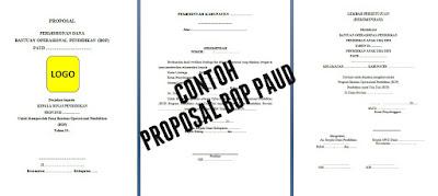 Contoh Proposal Pengajuan BOP PAUD Tahun 2017 - Contoh Proposal Permohonan BOP PAUD Tahun 2017