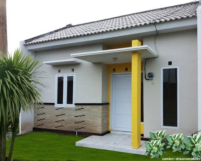 33 Contoh Gambar Tiang Teras Rumah Minimalis Sederhana Lengkap