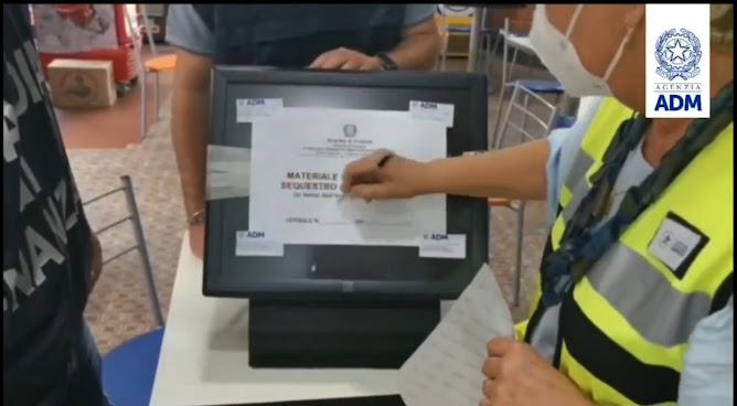 ADM: scommesse illegali, 280 esercizi commerciali controllati, sanzioni per oltre 1 milione di euro (VIDEO)