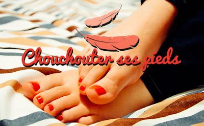 soins routine pieds
